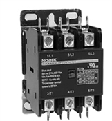 EX9CK75B30B7 (24/50-60VAC)...DEFINITE PURPOSE CONTACTOR, 3-POLE, 24/50-60VAC, 75AMPS