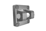 AIRTAC Mounting bracket for NSU series, MP2 type double clevis for 4 inch bore cylinders