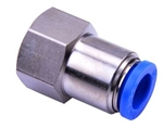 NPCF3/8-1/8 AIRTAC NPYB PUSH TO CONNECT PNEUMATIC FITTING  FEMALE CONNECTOR