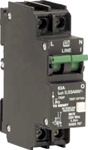 QF17A63...GROUND FAULT CIRCUIT BREAKER, SERIES TRIP WITH NEUTRAL SWITCH (1P + N), 63AMPS, 30mA, CURVE 2, 240VAC, UL1077 & UL1053 RECOGNIZED,