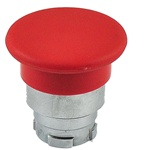 RB2-BC4...40 MM MUSHROOM HEAD PUSH BUTTON, SPRING RETURN, NON-ILLUMINATED, RED COLOR