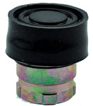 RB2-BP2...BOOTED PUSH BUTTON, SPRING RETURN, IP66, NON-ILLUMINATED, BLACK COLOR