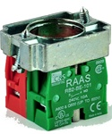 RB2-BZ105...CONTACT BLOCK SWITCHES,NORMALLY OPEN+NORMALLY CLOSED,STANDARD TYPE WITH COLLAR