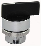 RM2-BJ8...METAL 3 POSITION SELECTOR HEAD, 1-SPRING RETURN TYPE - RIGHT TO CENTER, LONG HANDLE
