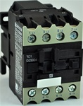 TC1-D25004-B5...4 POLE CONTACTOR 24/50VAC OPERATING COIL, 4 NORMALLY OPEN, 0 NORMALLY CLOSED