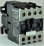 TC1-D2510-B6...3 POLE CONTACTOR 24/60VAC, WITH AC OPERATING COIL, N O AUX CONTACT