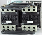TC2-D5011-B6...3 POLE REVERSING CONTACTOR 24/60VAC, WITH AC OPERATING COIL, N O & N C AUX CONTACT