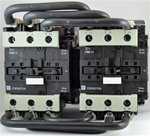 TC2-D8011-B6...3 POLE REVERSING CONTACTOR 24/60VAC, WITH AC OPERATING COIL, N O & N C AUX CONTACT