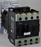 TP1-D40004-RD...4 POLE CONTACTOR 440VDC OPERATING COIL, 4 NORMALLY OPEN, 0 NORMALLY CLOSED