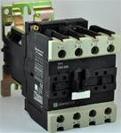 TP1-D65004-RD...4 POLE CONTACTOR 440VDC OPERATING COIL, 4 NORMALLY OPEN, 0 NORMALLY CLOSED