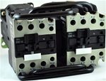 TP2-D3210-BD...3 POLE REVERSING CONTACTOR 24VDC, WITH DC OPERATING COIL, N-O AUX CONTACT