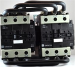 TP2-D8011-BD...3 POLE REVERSING CONTACTOR 24VDC, WITH DC OPERATING COIL, N-C & N-O AUX CONTACT